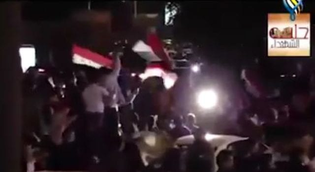 Aleppo victory, video still