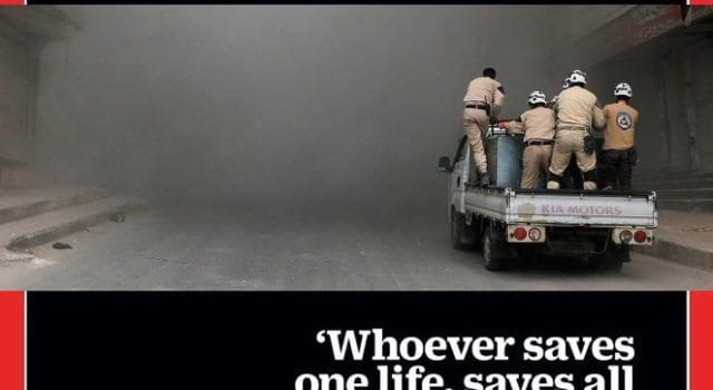 Time Magazine, White Helmets, Quran
