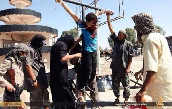 Christians crucified every Friday in Syria