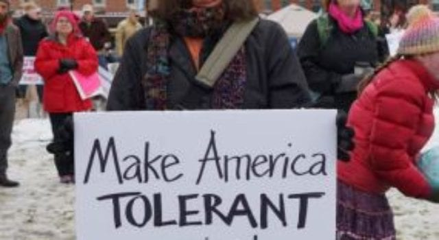 Womens March, Tolerance