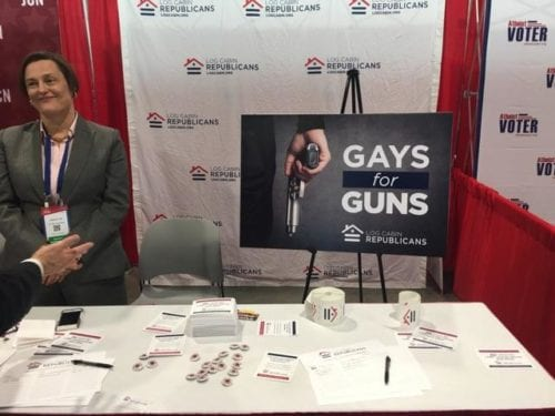 CPAC 2017, Gays for Guns, Log Cabin Republicans