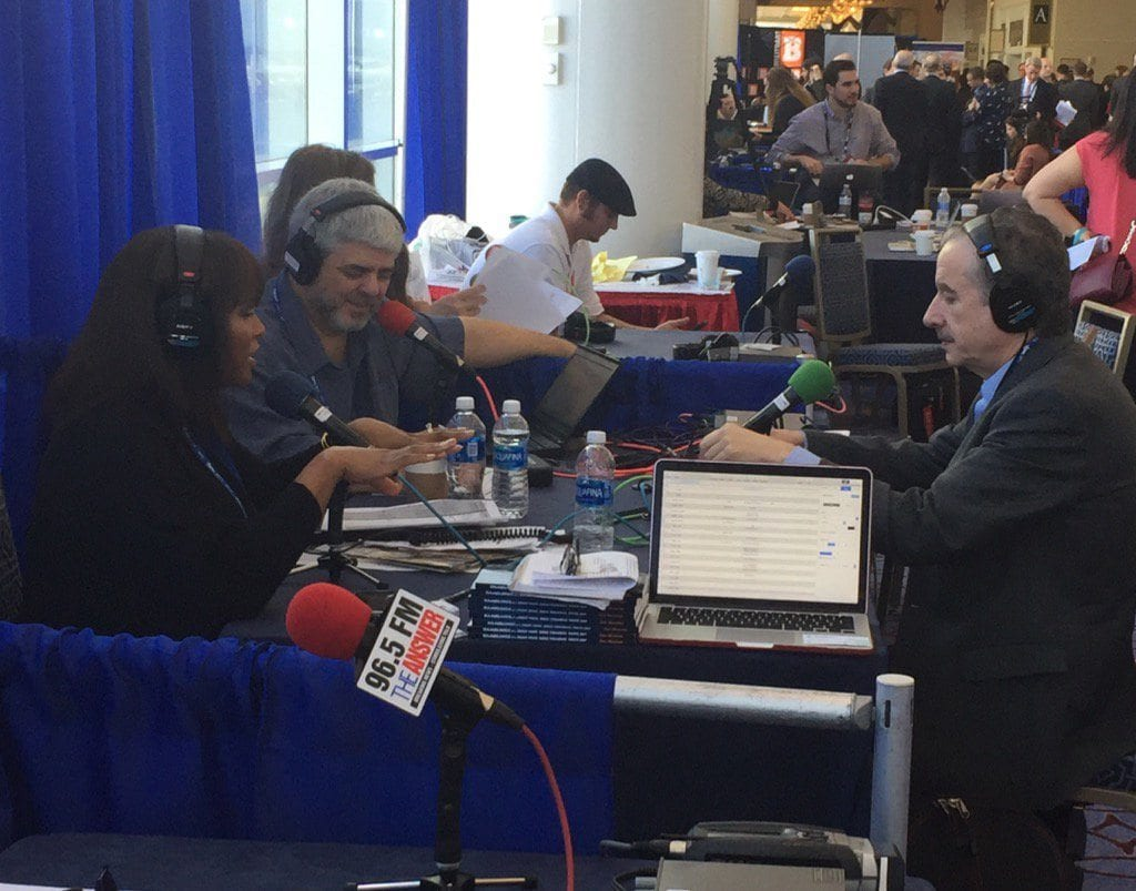Tom Borelli with Kathy Barnette, CPAC 2017