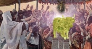 Israelites Worship the Golden Calf