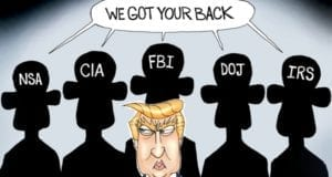 Trump, Shadow Government, Obama, FBI, CIA, NSA