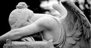 Crying Angel Statue