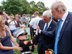 Trump, Pence, Memorial Day at Arlington National Cemetery 2017