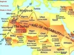 ISIS, Arc of Instability, Map