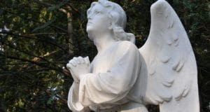 Praying Angel, God