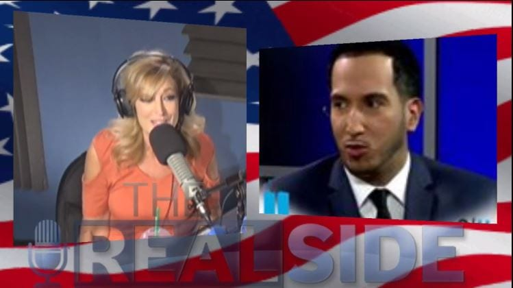 Guest Host, Andrea Kaye with Julio Rivera