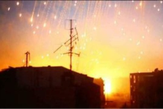 Syria, US strikes, Phosphorus bombs