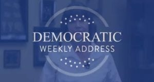 Weekly Democrat Address, Screen Clip