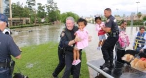 Harris County flood rescue, Hurricane Harvey, Houston
