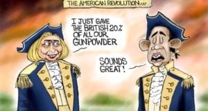 Hillary Clinton, Revolution, Uranium One, Political Cartoon