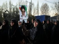 Iran Protests, Attrib: Cheri Berens
