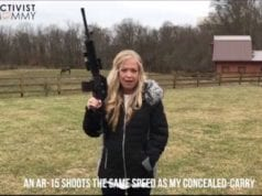 Elizabeth Johnston, The Activist Mommy, Guns, AR15, Video Still