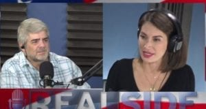 Joe Messina, The Real Side Radio Show with THE Hollywood Conservative, Amanda Head