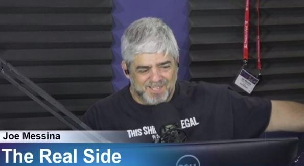 Joe Messina, The Real Side Radio Show