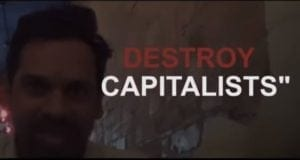 Project Veritas, Video Still, Destroy Capitalists