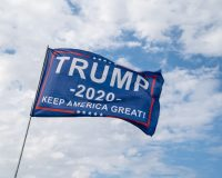Trump signs and American flags scare Blacks?