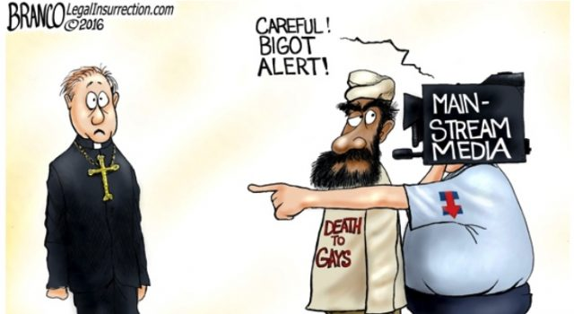 Christianophobia- Comic By A.F. Branco