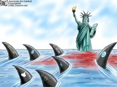 A.F. Branco Cartoon – Shark Bait