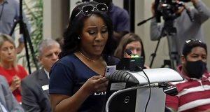 Quisha King, Florida mom, speaks out against critical race theory.