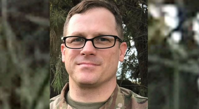 Maj. Andrew Calvert is the unit chaplain for Fort Hood's 3rd Security Force Assistance Brigade.(3rd Security Force Assistance Brigade Facebook page)