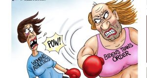 A.F. Branco Cartoon – What A Knockout