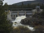 J.C. Boyle Dam on the Klamath River
