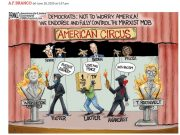 A.F. Branco Cartoon – American Circus
