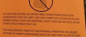 Why does one Mom want to kill Halloween candy fun for ALL kids?