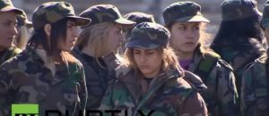 Female enlistment in the Syrian Army