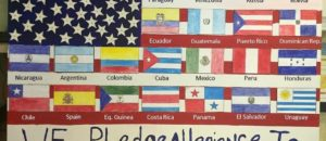 "School defaces our American Flag under the guise of ""art"" and ""inclusion"""