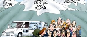 The Hills are alive with the Sound of Hillary's Scandals... Media silence