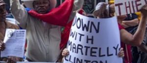 Haiti hates the Clinton?