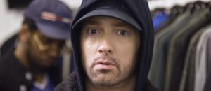 EMINEM embarrassed to be white! Cant he change that?