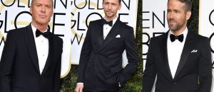 Men in Black at Golden Globes it aint what you think!