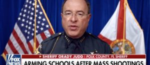 Sheriff says we need GUNS in Schools!