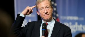 "Steyer's is trying to buy ""his"" election!"