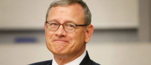 Is Chief Justice Roberts trying to balance the court!