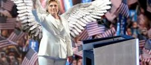 Hillary says God put her here to run for office?
