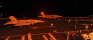 The USS George H.W. Bush in the Persian Gulf, September 2014 U.S. Navy