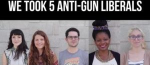 Taking anti-gun liberals to the gun range