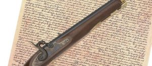 Flintlock Pistol Gun Declaration Of Independence